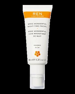REN Wake Wonderful Night-Time Facial, 40ml