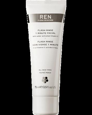 REN Flash Rinse 1 Minute Facial, 75ml