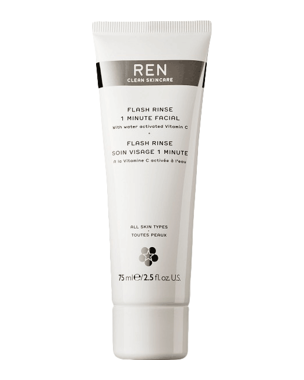 REN Flash Rinse 1 Minute Facial, 75ml