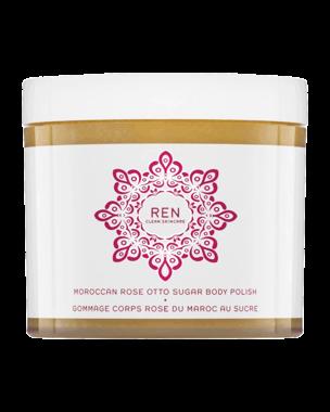 REN Moroccan Rose Otto Sugar Body Polish, 330ml