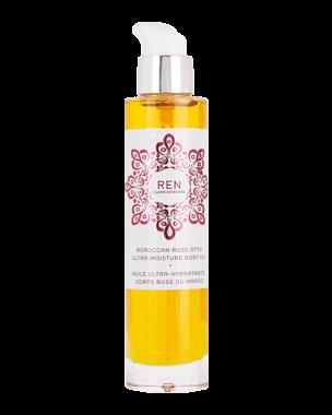 REN Moroccan Rose Otto Ultra-Moisture Body Oil, 100ml