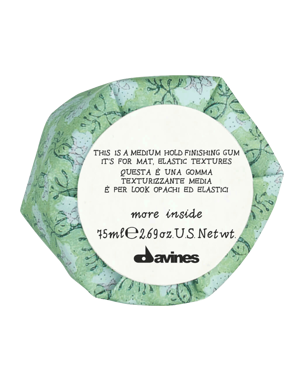 Davines More Inside Medium Hold Finishing Gum, 75ml