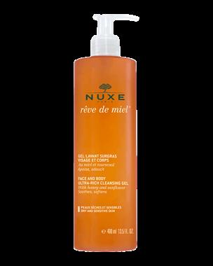 Nuxe Reve de Miel Face & Body Ultra-Rich Cleansing Gel, 400ml