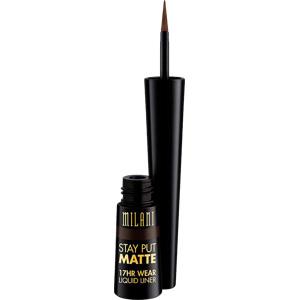 Stay Put Matte Liquid Eyeliner, Safari Matte