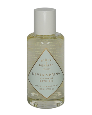 Björk & Berries Never Spring Nourishing Bath Oil, 100ml
