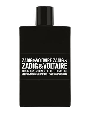 Zadig and Voltaire This is Him!, Shower gel 200ml