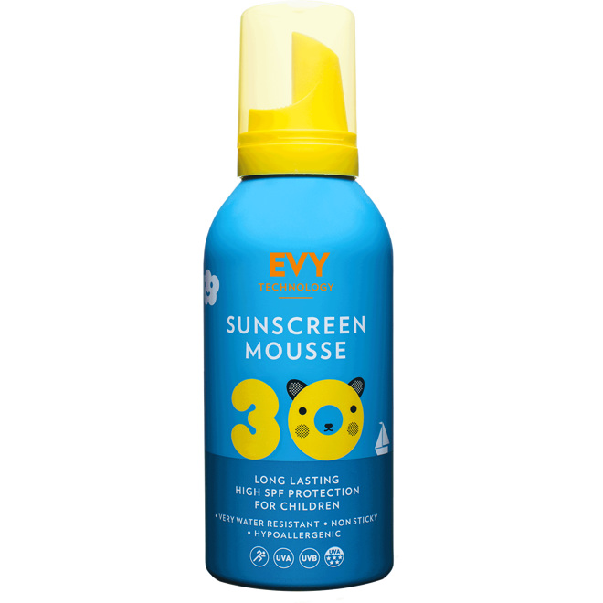 Evy Sunscreen Mousse Kids SPF30, 150ml