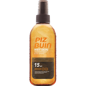 Wet Skin Transparent Sun Spray SPF15, 150ml
