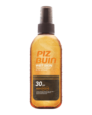 Piz Buin Wet Skin Transparent Sun Spray SPF30, 150ml