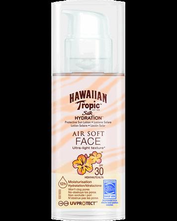 Hawaiian Tropic Silk Hydration Air Soft Face SPF30, 50ml