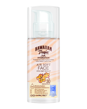Hawaiian Tropic Silk Hydration Air Soft Face SPF30, 50ml