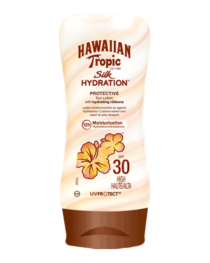 Hawaiian Tropic Silk Hydration Protective Sun Lotion SPF30, 180ml