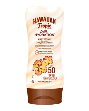 Hawaiian Tropic Silk Hydration Protective Sun Lotion SPF50, 180ml