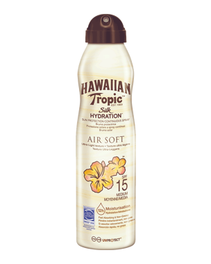 Hawaiian Tropic Silk Hydration Air Soft C-spray SPF15, 177ml