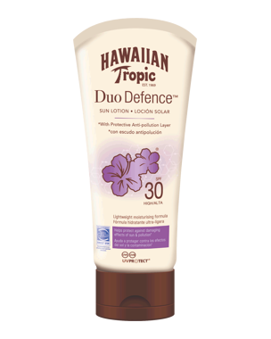 Hawaiian Tropic DuoDefence Sun Lotion SPF30, 180ml
