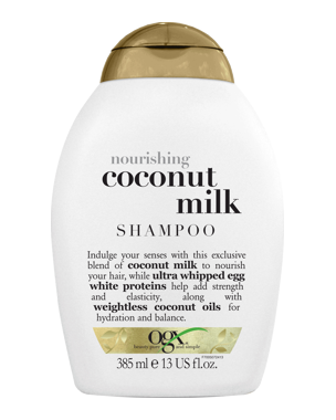 OGX Coconut Milk Shampoo, 385ml