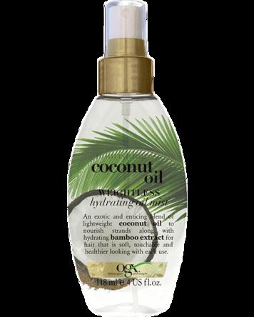 OGX Coconut Milk Oil Mist, 118ml