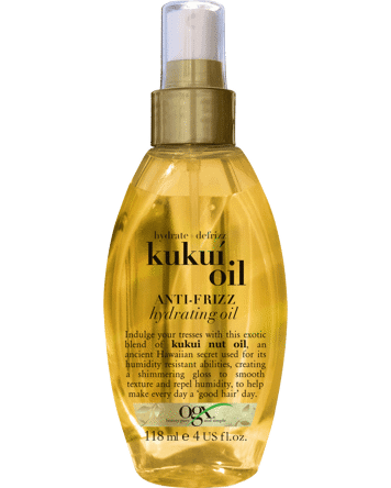 OGX Kukui Oil Anti-frizz Hydrating Oil, 118ml