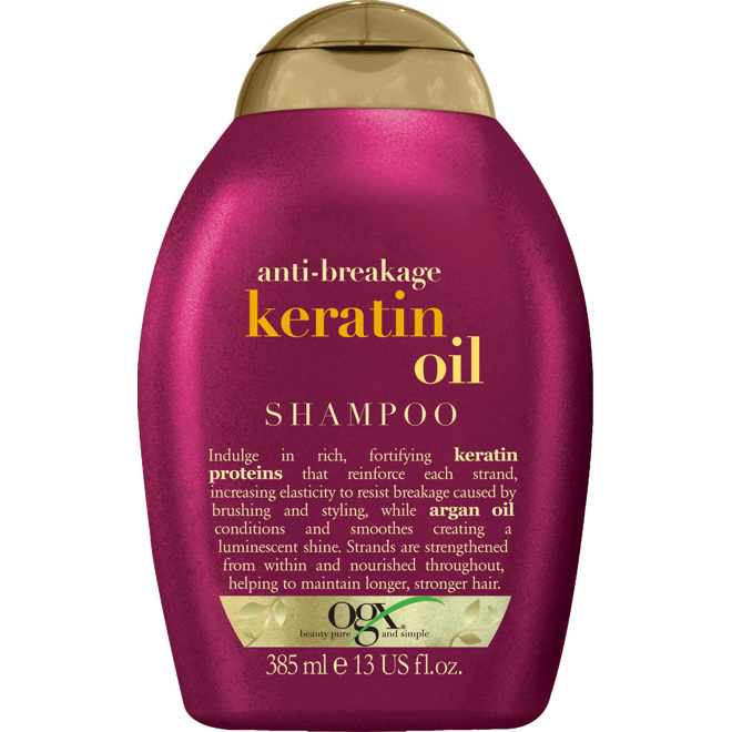 OGX Keratin Oil Shampoo, 385ml
