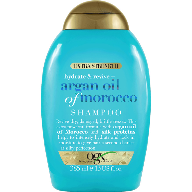 OGX Argan Extra Strength Shampoo, 385ml