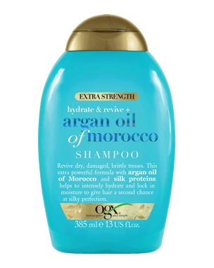 Argan Extra Strength Shampoo, 385ml