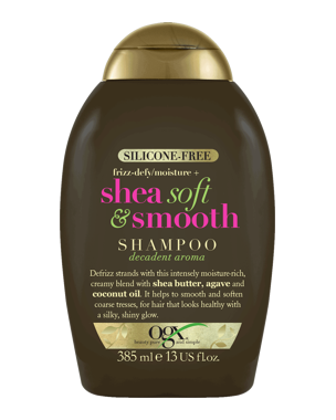 OGX Shea Soft & Smooth Shampoo, 385ml