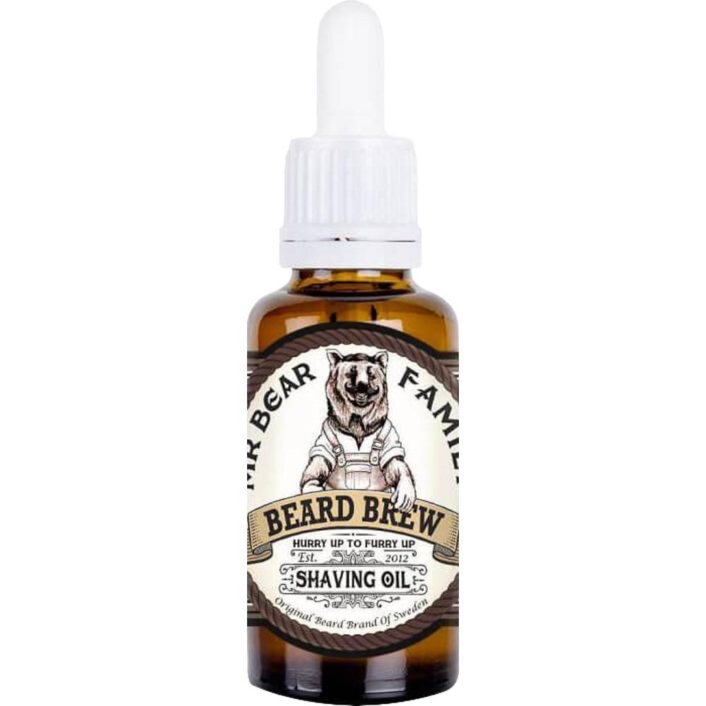 Mr. Bear Family Beard Brew Shaving Oil, 30ml
