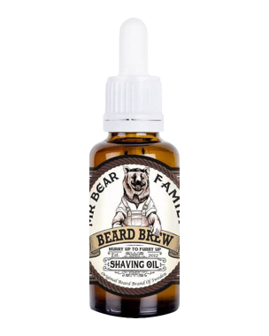Mr. Bear Family Beard Brew Shaving Oil, 30ml