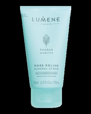 Lumene Puhdas Pore Polish Mineral Scrub, 75ml