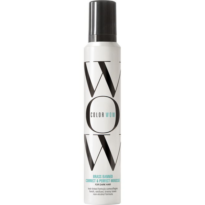 Color Wow Brass Banned Mousse - Dark, 200ml