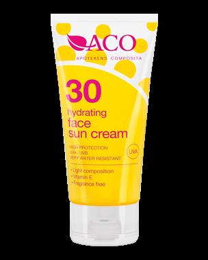 ACO Sun Face Cream, SPF30, 50ml