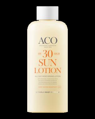 ACO Sun Lotion Moisturising SPF30, 300ml
