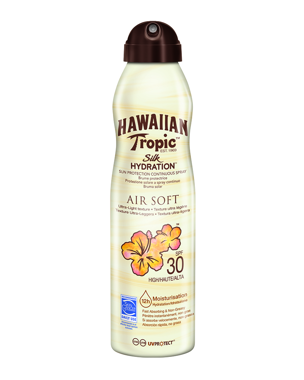 Hawaiian Tropic Silk Hydration Air Soft C-spray SPF30, 177ml