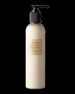 John Masters Organics Blood Orange & Vanilla Milk, 236ml