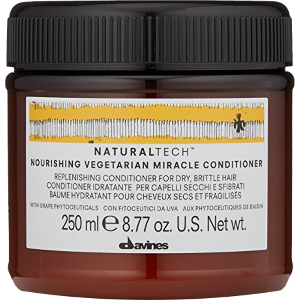 Davines NaturalTech Nourishing Vegetarian Miracle Conditioner, 250ml