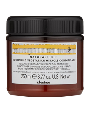 Davines NaturalTech Nourishing Vegetarian Miracle Conditioner, 250ml