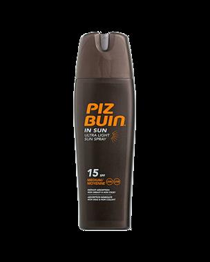 Piz Buin In Sun Ultra Light Sun Spray SPF15, 200ml