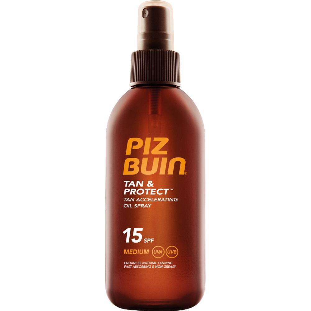 Piz Buin Tan & Protect- Tan Accelerating Oil Spray SPF15, 150ml