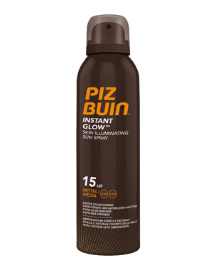 Piz Buin Instant Glow Spray SPF15, 150ml