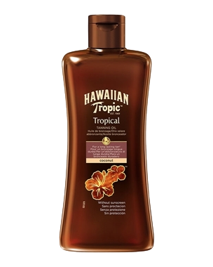 Hawaiian Tropic Tropical Tanning Oil, 200ml