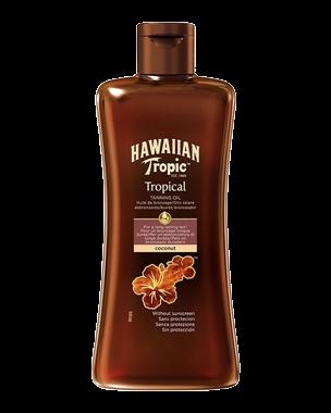 Hawaiian Tropic Tropical Tanning Oil, 200ml