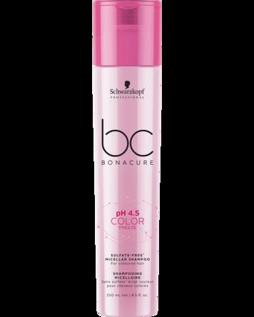 Schwarzkopf Professional pH 4.5 BC Color Freeze Sulfate-Free Micellar Shampoo