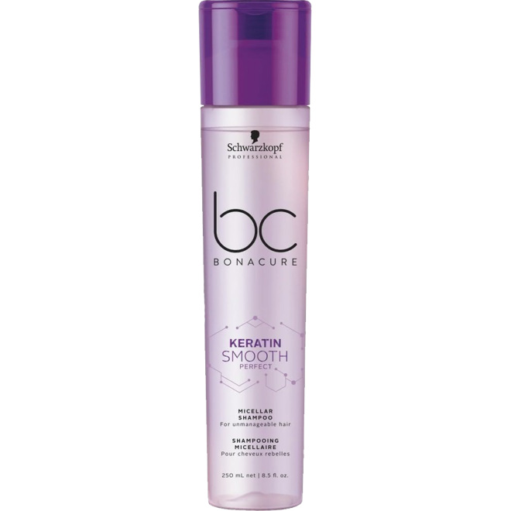 Schwarzkopf Professional BC Keratin Smooth Perfect Micellar Shampoo 250ml
