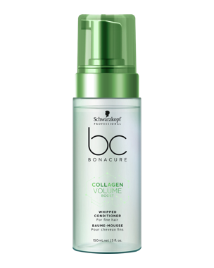 Schwarzkopf Professional BC Collagen Volume Boost Whipped Conditioner 150ml