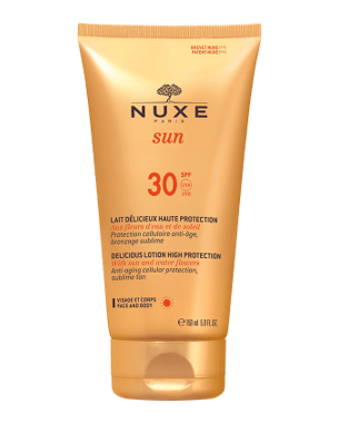 Nuxe Sun Delicious Lotion For Face and Body SPF 30, 150ml