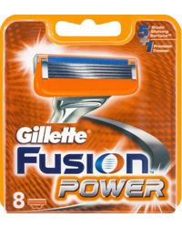 Gillette Fusion - 4 pack