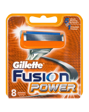 Gillette Gillette Fusion Power 8-pack