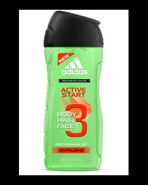 Adidas Active Start, Shower Gel