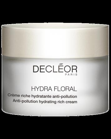 Decléor Hydra Floral Anti-Pollution Hydrating Rich Cream, 50ml
