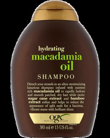 OGX Macadamia Oil Shampoo, 385ml